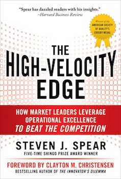 The High-Velocity Edge book cover