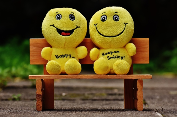 smilies bank sit rest